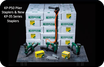 KP-P50 Plier Staplers & New KP-35 Series Staplers